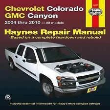 Chevrolet Colorado GMC Canyon 2004 thru 2010 Hayne's Automotive Repair Manual