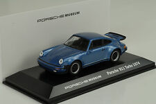 1974 Porsche 911 930 Turbo 3.0 geminiblau  Museum 1:43 MAP