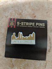 Atlanta United City Scape Skyline 5-Stripe Pins Collectible Wincraft ATL UTD