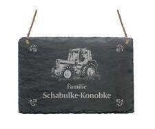 Türschild « TRAKTOR » Schild + IHR TEXT - Name Trecker Schlepper Landwirt Bauer