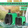 Submersible Water Pump w/ Adjustable Knob Aquarium Fish Tank Pond Fountain Pump