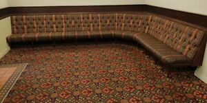 Booth Fixed Seating For Home Bar /Pub/Bar/Restaurant/Man Cave