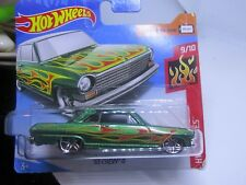 HOT WHEELS 2018 110/365 '63 CHEVY II NEW ON CARD