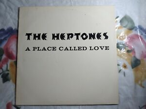 *THE HEPTONES - A PLACE CALLED LOVE/ 1987 MOVING TARGET ROOTS REGGAE LP/ US