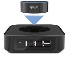 iHome Bedside Stereo Speaker for Amazon Echo Dot - IAVS1B - Black