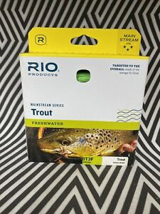 RIO MAINSTREAM TROUT NEW DT-3-F #3 WEIGHT DOUBLE TAPER FLOATING FLY FISHING LINE