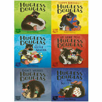 David Melling Collection Hugless Douglas Series 6 Children's Books Set
