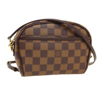 LOUIS VUITTON POCHETTE IPANEMA SHOULDER BUM BAG VI1021 DAMIER N51296 AUTH 33998
