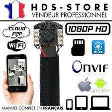 MV88IR MODULE CAMERA ESPION IP WIFI FULL HD 1080P MICRO SD 256 GO MAX 4 LEDS IR