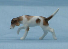 Unpainted Stablemate 1/32 Scale Running Fox Hound Dog