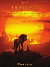 THE LION KING MUSIC BOOK PIANO/VOCAL/GUITAR FROM THE DISNEY MOVIE SONGBOOK NEW!!