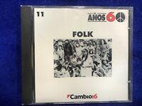 AÑOS 60 CD FOLK PETE SEEGER BOB DYLAN JOAN BAEZ BILL WOOD CISCO HOUSTONE GUTHRIE
