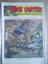 Nick Carter Il Grande poliziotto americano Anni 40 n°88 ed. NERBINI  [G369]