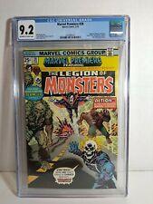 1976 Marvel - Marvel Premiere #28 CGC 9.2 OW-W 1st Legion of Monsters