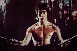 Bruce Lee - Enter the Dragon (1973) - 24 x 36 - Poster Reproduction