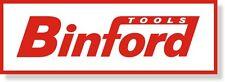 "Binford red aluminum sign 18""x6"""
