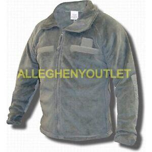 NEW US Army Military Gen III ACU POLARTEC 100 FLEECE JACKET Foliage Green NIB