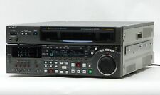 SONY DVW-M2000P BETA/SP/SX BETACAM DIGITAL VIDEOCASSETTE STUDIO RECORDER PLAYER