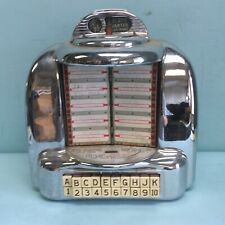 "1950's Chrome Jukebox Remote Selector 12 3/4"" High"