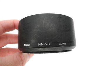Nikon HN-28 77mm Metal Camera Lens Hood For AF 80-200mm f/2.8 ED (Dented)