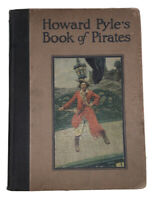 HOWARD PYLE'S BOOK OF PIRATES, 1921, FIRST EDITION, FOLIO, ILLUSTRATED
