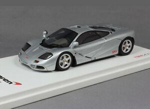 McLaren F1 XP-3 Experimental Prototype (1993) in Silver (1:43 scale by TrueScale
