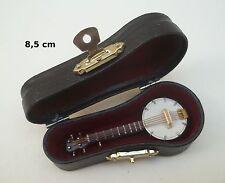banjo miniature, vitrine ou maison de poupée, instrument de musique ***CL9
