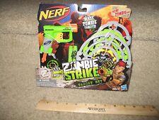 Nerf Zombie Gun New N-Strike Elite Precision Target Set Shoot Training 3 darts
