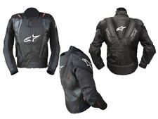 GIACCA IN PELLE ALPINESTARS AL-010, NERO TG 52, L _ULTIMA DISPONIBILE