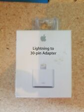 UNUSED GENUINE Apple Lightning to 30-pin Adapter for iPhone iPad MD823AM/A
