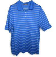 Nike Dri Fit Tiger Woods Collection Polo Golf Shirt Mens L Large Short Sleeve