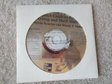 BRUSH UP: A QUICK GUIDE TO BASIC WRITING & MATH SKILLS CD ROM BY MELVIN MENCHER