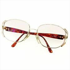 c8f7fa4b9b Dior Glasses Gold Brown Woman Authentic Used D1856