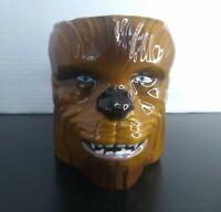 Star Wars Chewbacca Mug Ceramic Sculpted 11oz Coffee Hand Painted Zak Design