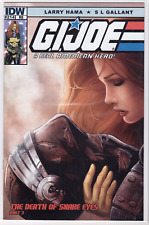G.I. JOE #214 IDW VARIANT Fabio Valle ComicXposure Snake Eyes VARIANT Cover NM+