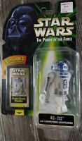Star Wars Power of the Force Flashback Photo R2-D2 Launching Lightsaber .01 POTF