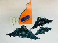 Hallmark Halloween Hanging Bats Decoration Honeycomb Vintage Collectible Cute