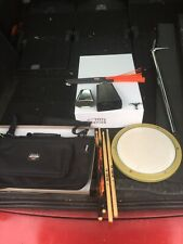 Free P&P. Drum Kit Bundle. Sticks, Key, Pad, Bag, Cowbell. Hot Rods.  DB910251