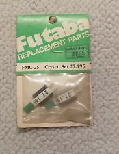 Futaba FMC-25 Crystal Set 27.195