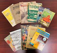 VTG Navy Day Program, Mechanix, Boating Magazines! Bethlehem Deck, Tiebout ETC