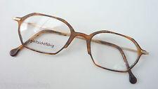 Argenta Superleichte Brillenfassung Hornoptik Metallbügel frame braun size L