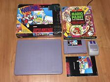 Mario Paint Super Nintendo Snes Complete CIB w/Guide Cleaned & Tested