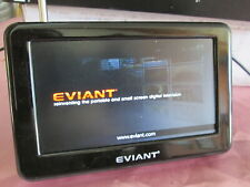 """EVIANT T4 4.3"""" Portable Digital TV UNIT ONLY Used"""