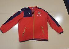 puma arsenal fly emirates jacket size L