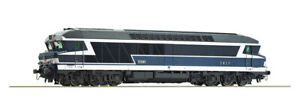 LOCOMOTIVE DIESEL CC 72000 SNCF HO PAR ROCO REF 73004