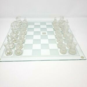 Fifth Avenue Crystal Chess Set Complete - No Box