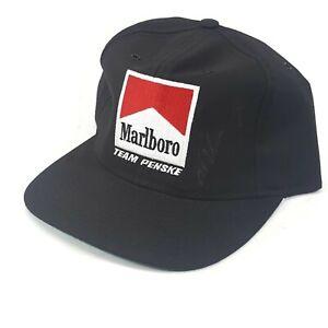 Signed Marlboro Hat Al Unser Jr NASCAR