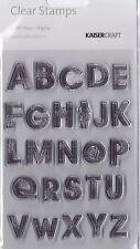 ALPHA - 13TH HOUR - Kaisercraft Clear Alphabet Stamp Set