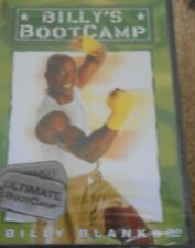 Billy's Bootcamp Blanks Ultimate Workout DVD Tae Bo New Fitness Kickboxing