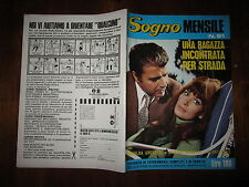 FOTOROMANZO SOGNO MENSILE ANNO 1972 N°91 CON ROSALBA GROTTESI SANDRO MORETTI